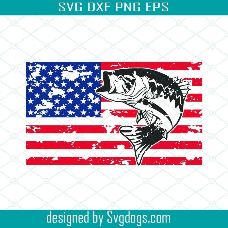Download Fishing Usa Flag Svg Fishing Svg Bass Svg 4th Of July Fishing America Fishing Svg Fish Lover Svg Svgdogs