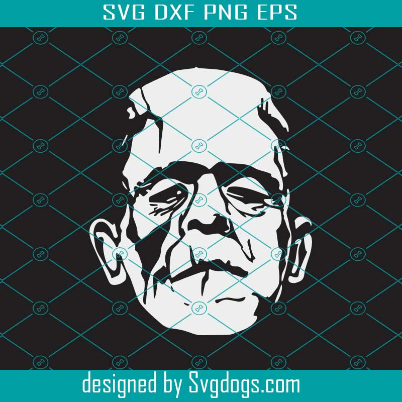 Frankenstein Svg Frankenstein Silhouette Monster Svg Svgdogs