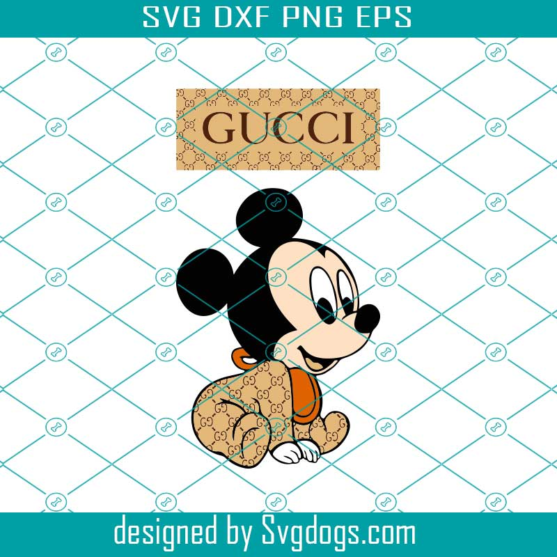 Baby Mickey Mouse Gucci Svg Svgdogs