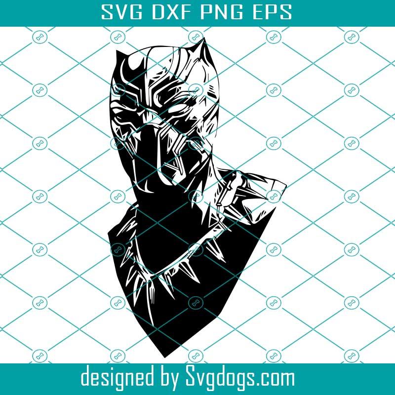 Black Panther Svg Black Panther Dxf Avengers Marvel Svg Superhero Wakanda Forever Svg Svgdogs