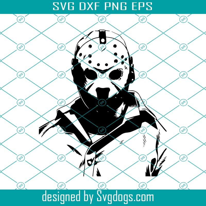 Jason Voorhees Svg Friday The 13 Th Svg Cameo Svg Jason Voorhees Svg Svgdogs