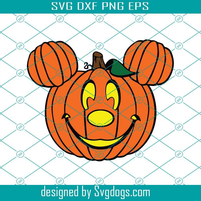 Pumpkin Mickey Halloween Svg Disney Svg Svgdogs