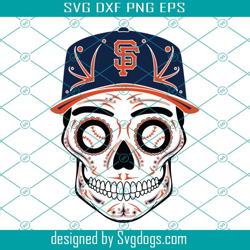 SVG, JPG, Digital Download Baseball Skull