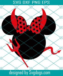 Mickey Mouse Halloween Evil Svg