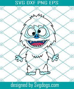 Abominable Snowman Svg