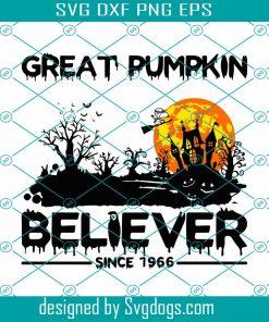 Great Pumpkin Believer Snoopy Svg