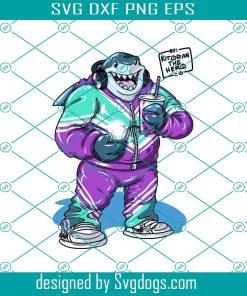 King Shark Svg File