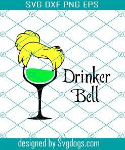 Drinker Bell Svg