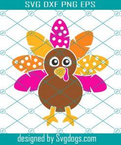 Girl Turkey Svg