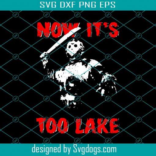 Now It's Lake Svg