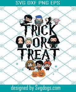 Trick Or Treat Harry Potter Svg