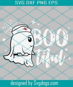 Bootiful Boo Nurse Svg