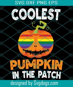 Coolest Pumpkin In Patch Svg