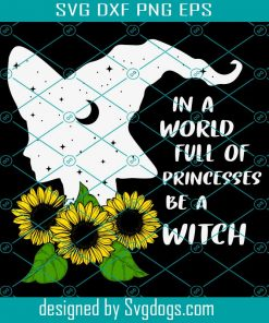 Be A Witch Svg