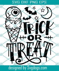 Halloween Ice Cream Svg