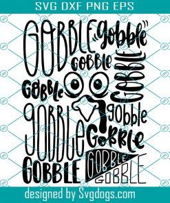Gobble Gobble Svg