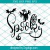 Spooky Svg File