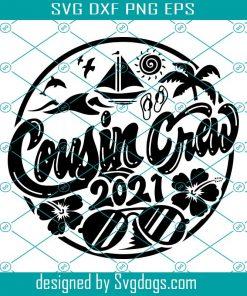Summer Cousin Crew Svg