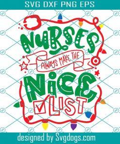 Nurse Christmas Svg