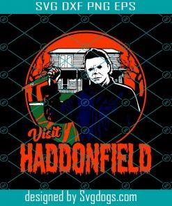 Visit Haddonfield Svg