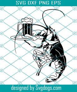 Lobster Waiter Svg