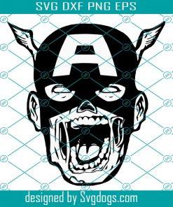 Captain Zombie Svg