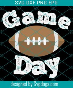 Game Day Football Svg