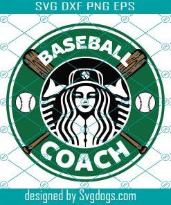 Starbucks Baseball Svg