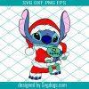 Stitch Christmas Svg