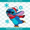 Cartoon Character On Skates Christmas Svg