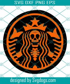 Coffee And Witch Svg
