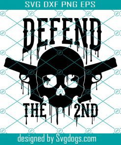 Defend The 2nd Svg