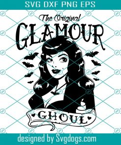 Glamour Ghoul Svg