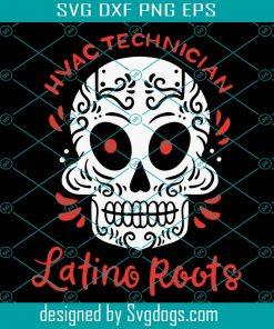 Mexican HVAC Refrigeration Tech Svg