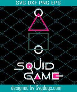 Squid Game Korean Drama Svg
