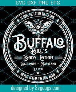 Buffalo Bill's Body Lotion Svg File