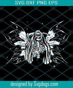 Fairycore Aesthetic Fairy Skeleton Grim Reaper Svg