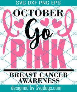 October Go Pink Svg