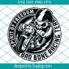 Skull Biker Svg