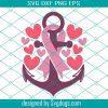 Breast Cancer Pink Ribbon Svg