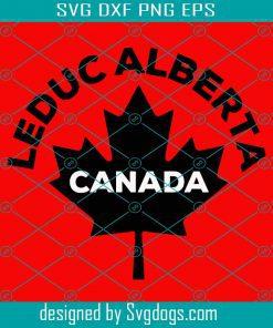Leduc Alberta Canada Svg