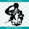 US Soldier Svg File