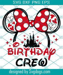 Birthday Crew Svg