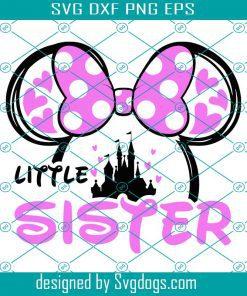 Mouse Little Sister Svg