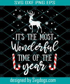 Its The Most Wonderful Time Svg