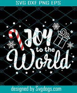 Joy To The World Christmas Svg