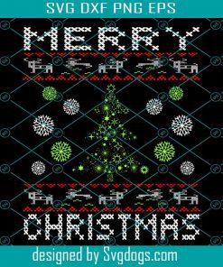 Ugly Christmas Pattern SvgUgly Christmas Pattern Svg