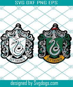 High Detail Slytherin Uniform Emblem Bundle Svg