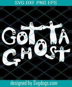 Gotta Ghost Svg